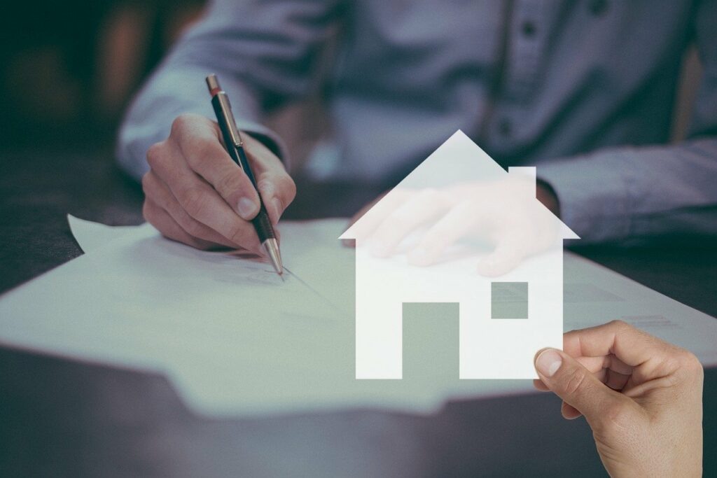 mortgage, house, contract